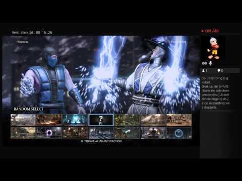 Live PS4-uitzending van villagevoice mortal combat