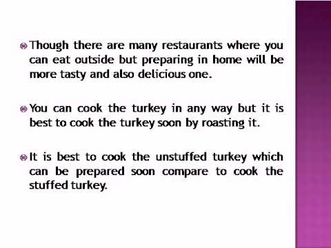 How Long Does It Take To Cook Turkey