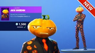 *NEW* JACK GOURDON SKIN! [ITEM SHOP OCT 19] FORTNITE BATTLE ROYALE