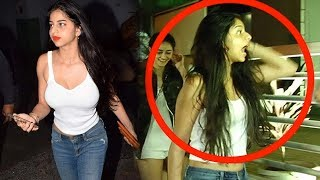 Shah Rukh Khan's Daughter Suhana Khan Runs Away After Seeing Media