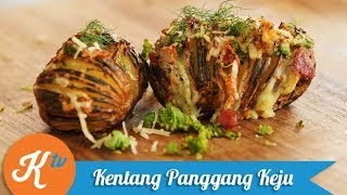 Resep Kentang Panggang Keju (Baked Potato & Cheese Recipe Video) | ARYO BISMO