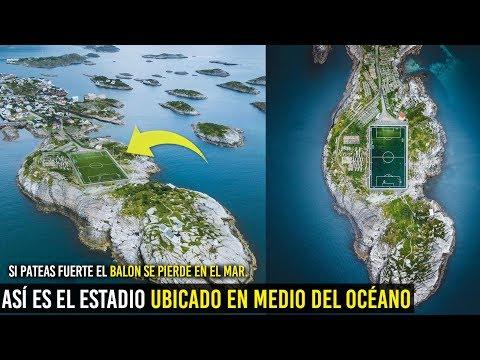 CONOCE EL ESTADIO UBICADO EN MEDIO DEL OCÉANO, EL CAMPO DE FÚTBOL MAS LEJANO DE MUNDO