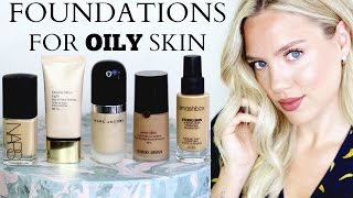 BEST FOUNDATIONS FOR OILY/COMBINATION SKIN || Elanna Pecherle