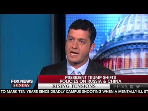 Mike Needham on Fox News Sunday April 16th talking about Russia, China and North Korea