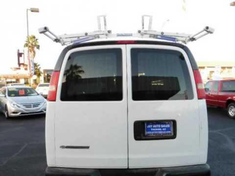 2008 Chevrolet Express Cargo Van 2500 LADDER RACK SHELVES Tucson Arizona