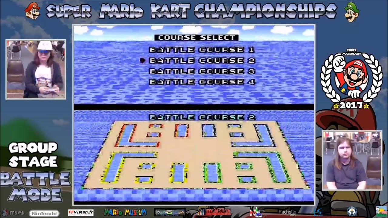 Super Mario Kart Championship 2017 - Battle Mode - Group Stage ...