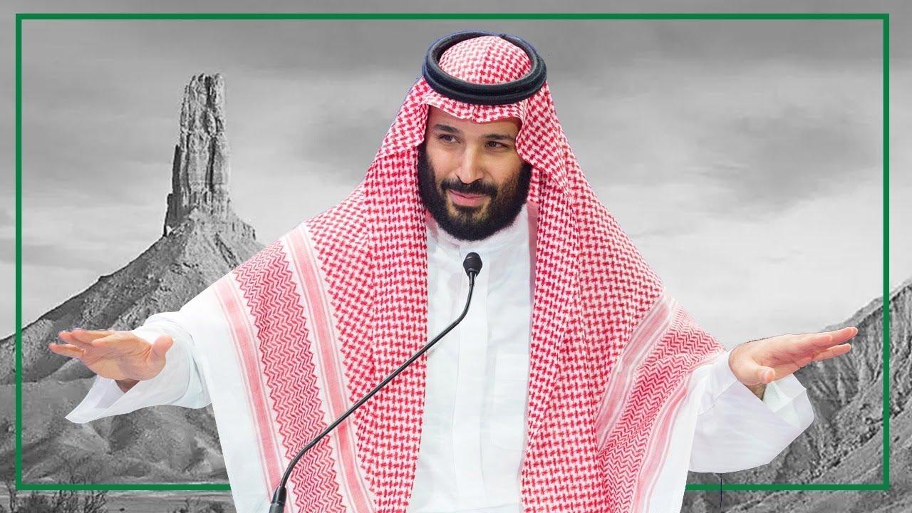 محمد بن سلمان يمدح السعوديين مثل جبل طويق Youtube