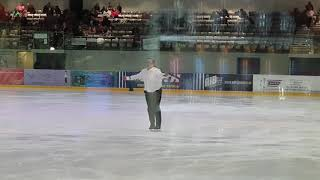 My first big ice skating competition!! milton keynes artistic competition