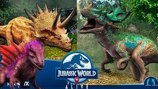 Гибридные Громилы Jurassic World Alive