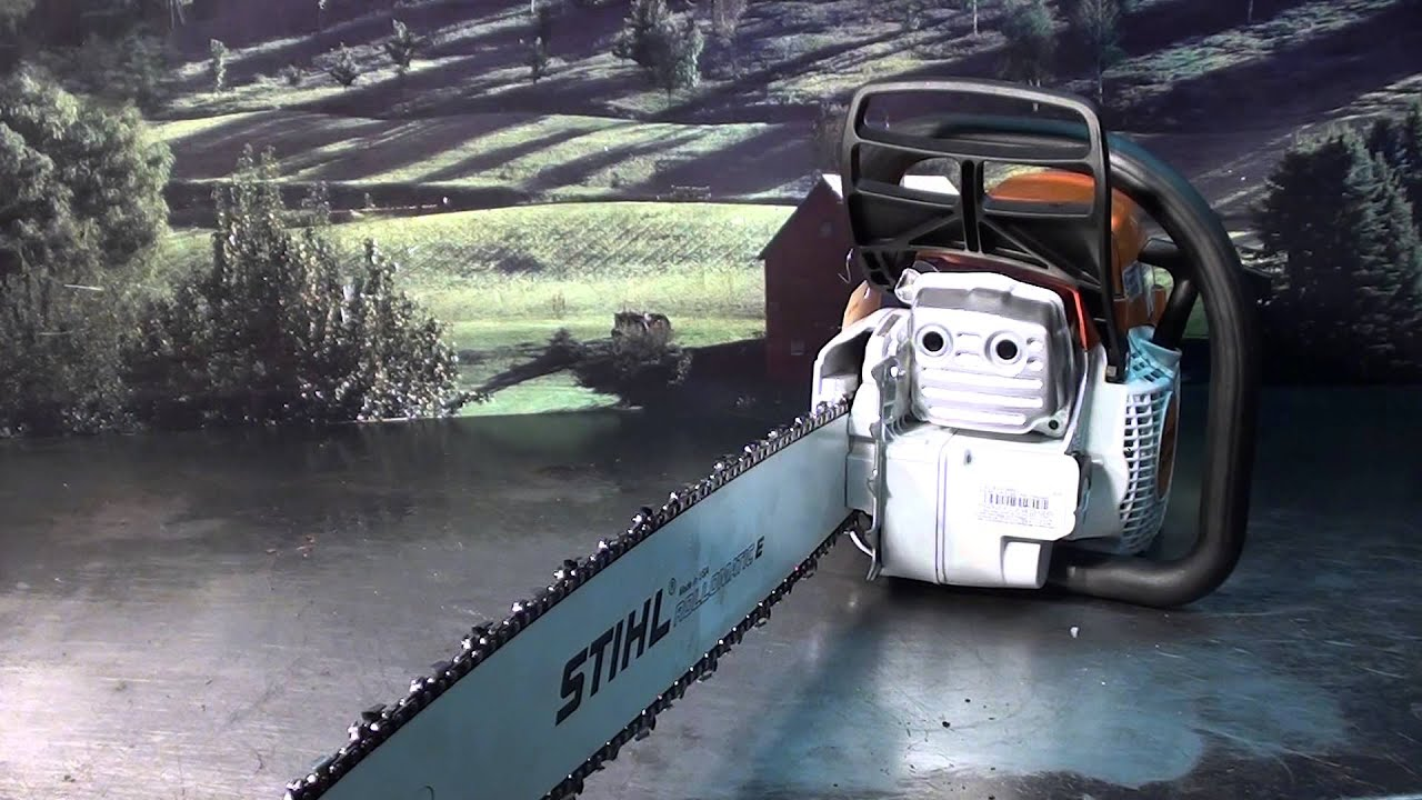 the chainsaw guy shop talk test muffler stihl ms 261 chainsaw youtube. Black Bedroom Furniture Sets. Home Design Ideas