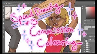 Commission Colouring | Speed Drawing #3