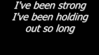 Chris Daughtry-Every Time You Turn Around LYRICS