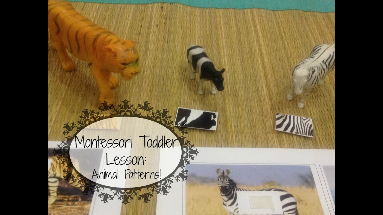 Montessori Toddler Learning Lesson Animal Patterns W Free - Free-printables-for-toddlers