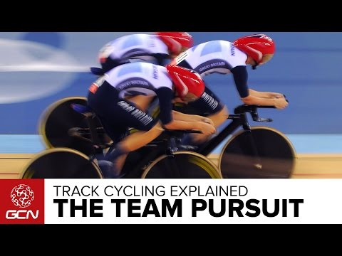 The Team Pursuit Explained –GCN's Guide To Track Cycling