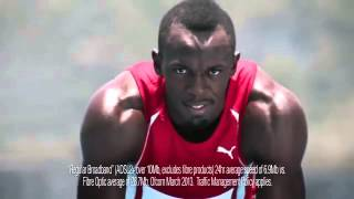 "Virgin Media   New TV Ad #1 featuring Usain Bolt and ""Blot"""