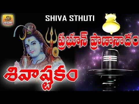 Prabhum Prananatham Vibhum Vishwanatham | Shiva ashtakam | Shiva Stuti Telugu | Shiva Stotram