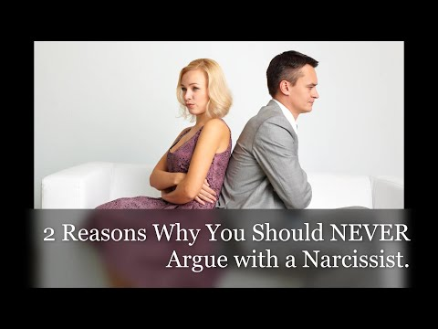 2 Reasons Why You Should Never Argue With A Narcissist