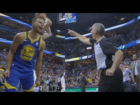 Stephen Curry, Kevin Durant Ejected! Marc Gasol 34 Pts 14 Rebs! Warriors vs Grizzlies 2017-18 Season