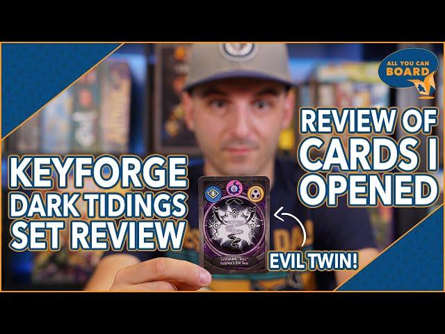 KeyForge | Dark Tidings SET REVIEW