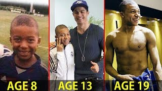 Kylian Mbappé - Transformation From 5 To 19 Years Old