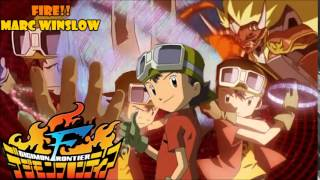 Fire!! (Digimon Frontier opening) cover latino by Marc Winslow