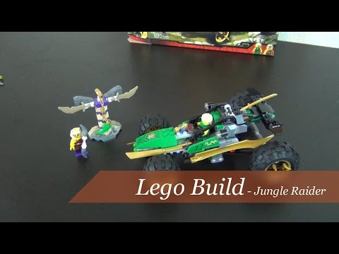Lego Build - Ninjago Jungle Raider Set #70755