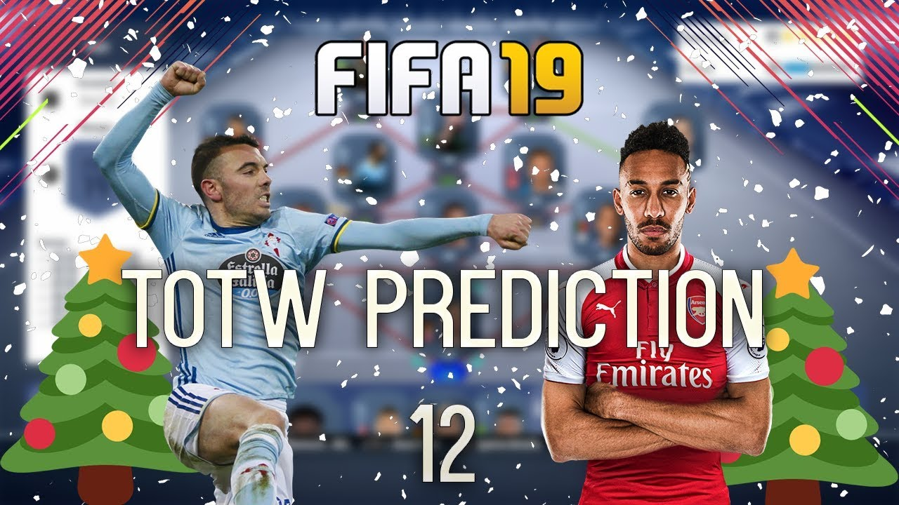 fifa 19 team of the week 12 predictions