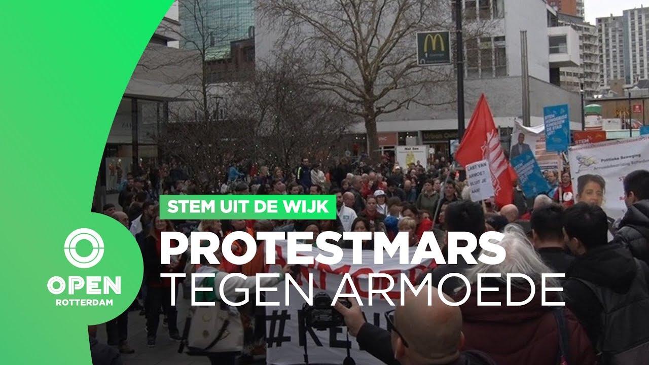 Stem uit de wijk protestmars tegen armoede in rotterdam for Wijk in rotterdam