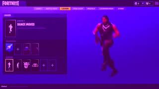 FORTNITE DANCE MOVES EMOTE BASS BOOSTED ' watch at your own risk'