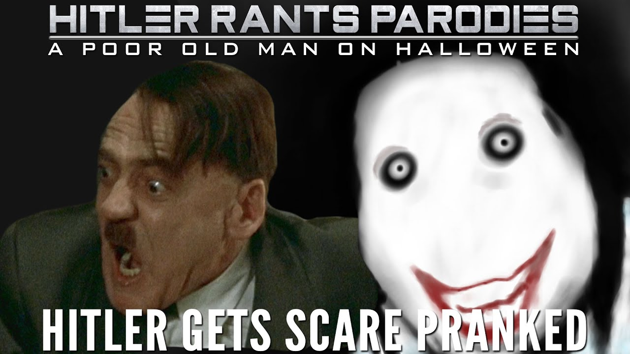 Hitler gets scare pranked