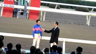 第3回東京スプリング盃(SIII)  坂井英光騎手インタビュー