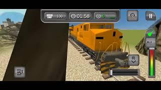 #Sms Gamers#Drive city cargo train! transport & rescue Jurassic zoo animals around railroad screenshot 4