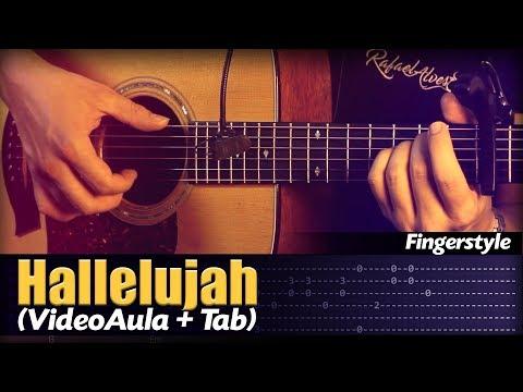 Hallelujah +TAB Fingerstyle by Rafael Alves