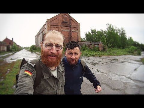 EXPLORING AN ABANDONED COAL MINE (IN THE RAIN)
