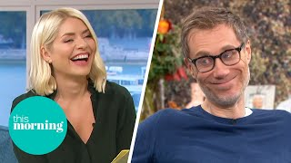 Stephen Merchant Hilariously Reveals How He Landed Christopher Walken For The Outlaws | This Morning