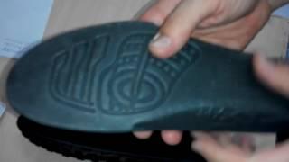 Видео обзор кроссовок Reebok черная сетка