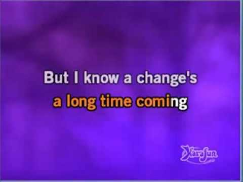 Seal - A change is gonna come (karaoke)