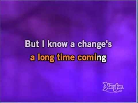 Seal - A change is gonna come (karaoke)