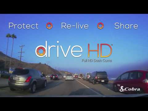 Cobra Drive HD: Dash Camera Promo Video