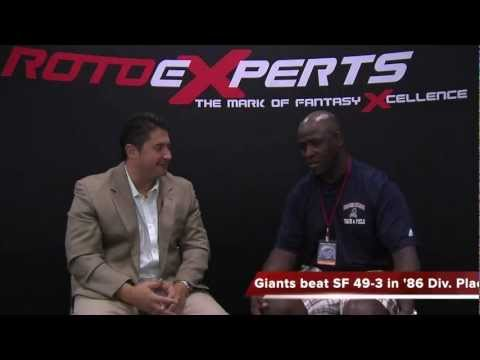Former Giants DB Perry Williams interviewed by Mike Damergis