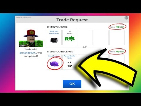 I GOT DONATED A FREE HAT!! (Roblox Trading EP. 415)