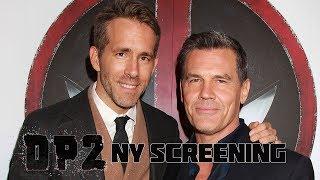 'Deadpool 2' New York Special Screening