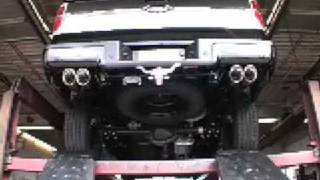 2009 ford f 150 5 4 platinum custom true dual by kinney s with flo pro muffler