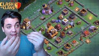 KÖY İNCELEMELERİ #21 (Troll Köy Düzenleri) Clash of Clans