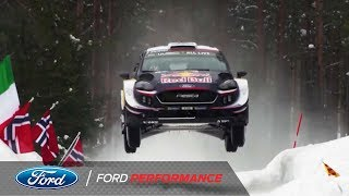 M-Sport Ford Fiesta WRC Aero Test | Ford Performance thumbnail