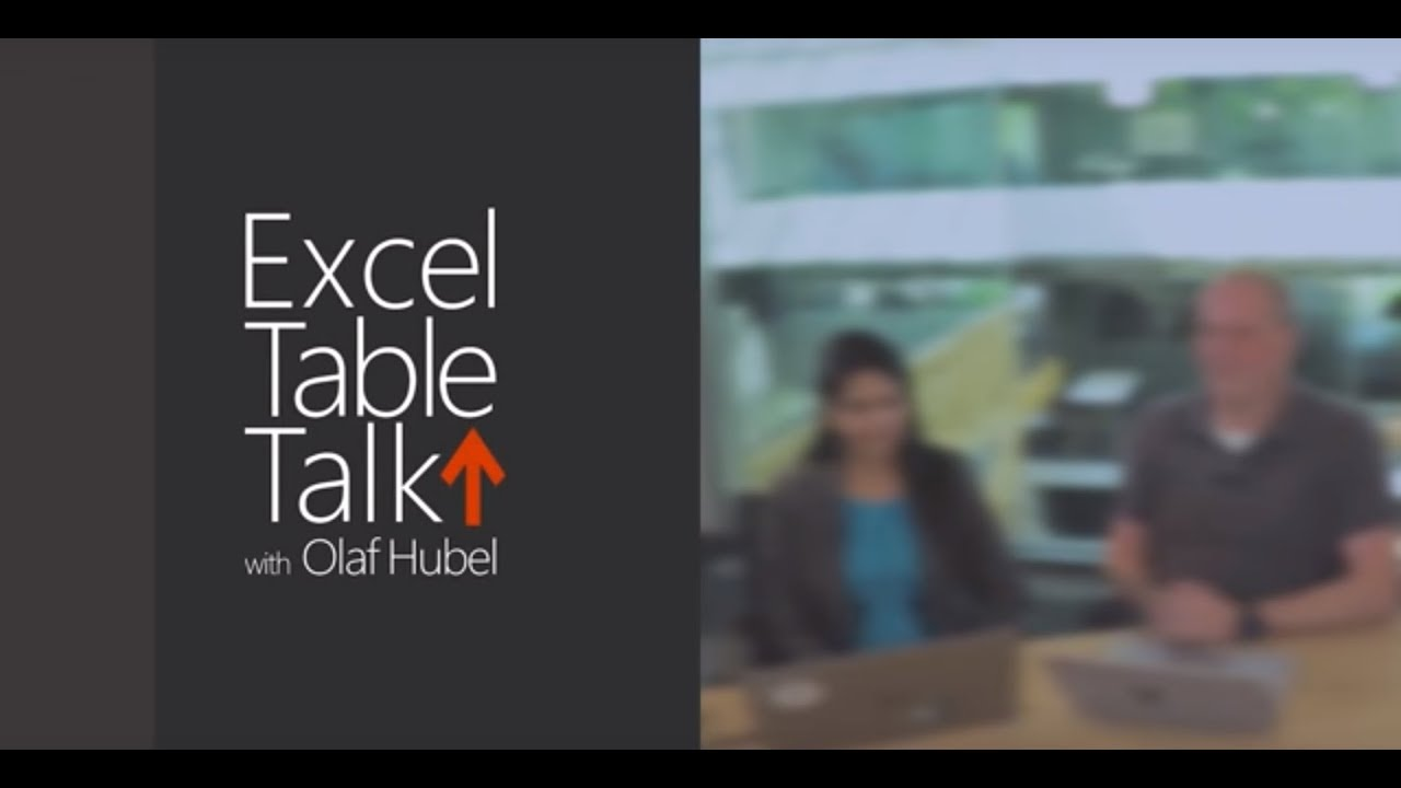 Excel Tips and Tricks - Episode 4  - Excel Table Talk