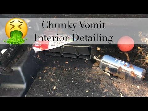 Explosive Chunky Vomit Interior detailing Tampa