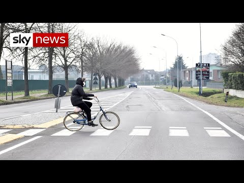 Italian towns in COVID-19 lockdown