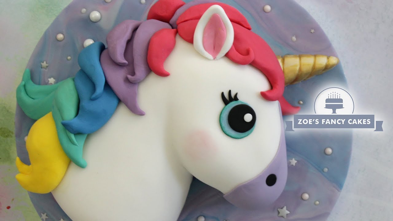 Rainbow Unicorn Cake Amazing Tutorials
