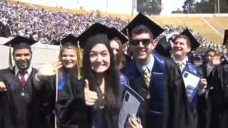 Cal Berkeley Graduation Montage 2014 5-17-14